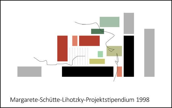 <b>Individuell Wohnen - Gemeinsam Leben</b>, Margarete-Schütte-Lihotzky-Projektstipendium 1998