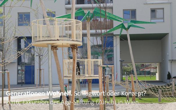 Fachexkursion der Age-Stiftung (Zürich) nach Wien, (Konzeption, Organisation & Leitung Christiane Feuerstein)