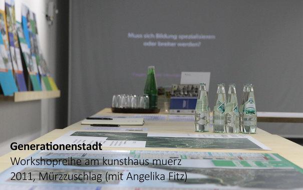 Workshopreihe  Generationenstadt, mit Angelika Fitz