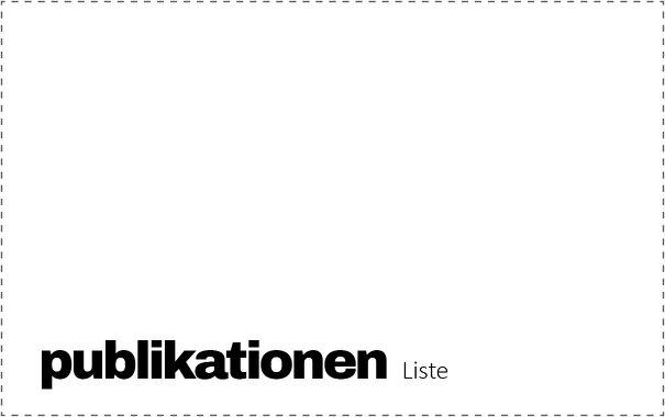 Monographien, Ausstellungskataloge, Beiträge in Sammelbänden, Zeitschriftenbeiträge