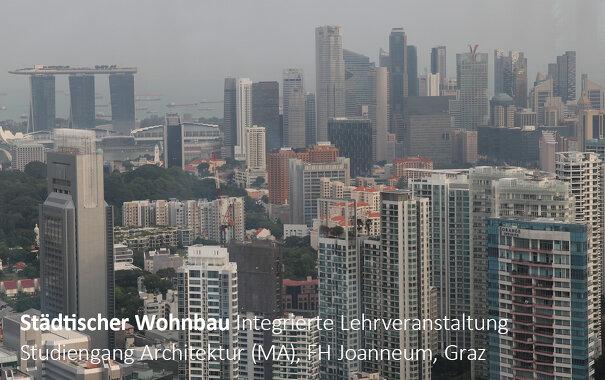 Städtischer Wohnbau, Integrierte Lehrveranstaltung, FH Joanneum, Studiengang Architektur (MA)