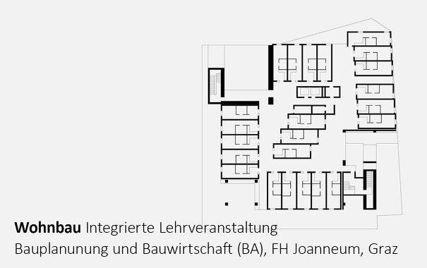 Wohnbau, Integrierte Lehrveranstaltung, FH Joanneum, Studiengang Bauplanung und Bauwirtschaft (BA)