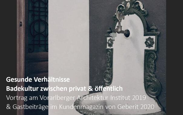<b>Gesunde Verhältnisse | Badekultur zwischen privat & öffentlich</b>