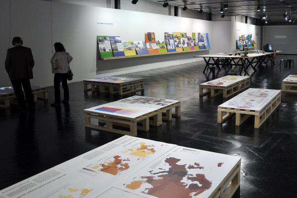 Ausstellungsansicht Generationenstadt November 2011 • © Klaus Stattmann